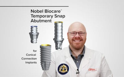 Nobel Temporary Snap Abutment
